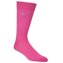Buy Polo Ralph Lauren Flat Cotton Socks Online at johnlewis.com