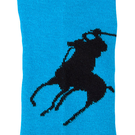 Buy Polo Ralph Lauren Flat Cotton Ankle Socks Online at johnlewis.com
