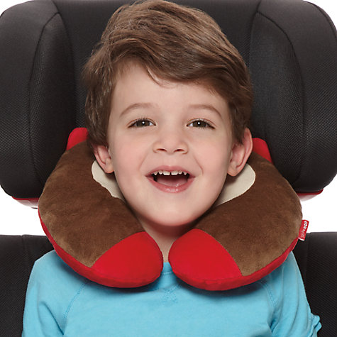 Buy Skip Hop Travel Neck Rest, Monkey Online at johnlewis.com