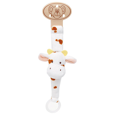 Buy Teddykompaniet Dummy Holder, Cow Online at johnlewis.com