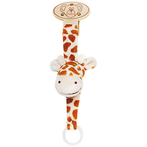 Buy Teddykompaniet Dummy Holder, Giraffe Online at johnlewis.com