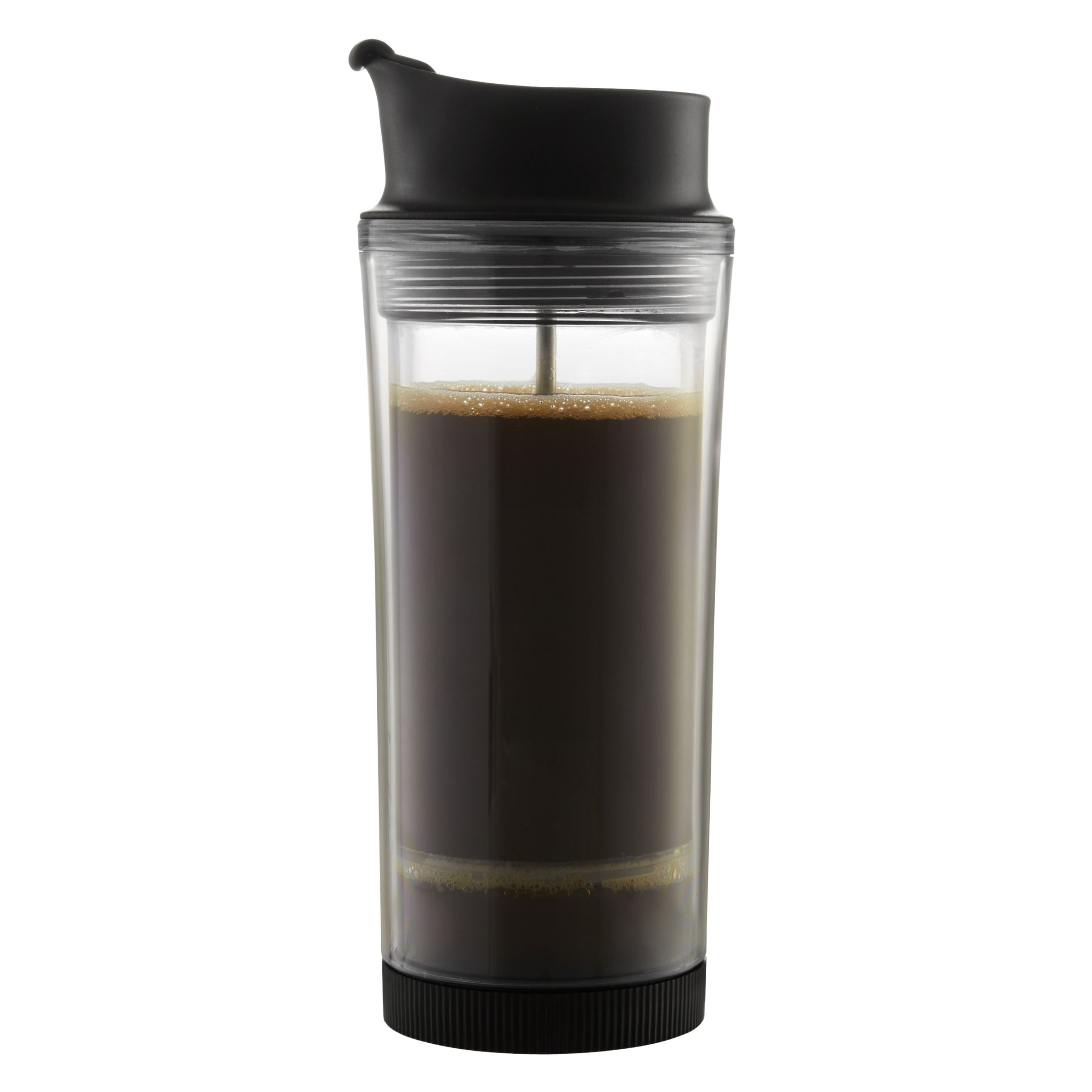 Buy Bodum Travel Press Coffee Maker Mug and Lid, 0.45L John Lewis