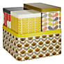 Orla Kiely Multi Stem Cracker and Biscuit Tins, Set of 4