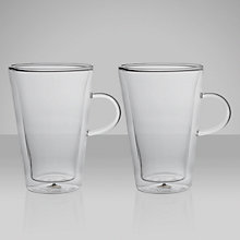 Buy Bodum Canteen Double-Walled Glass Mug and Handle, 0.4L Online at johnlewis.com