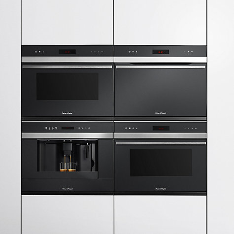 Buy Fisher & Paykel OB60N8DTX1 Compact Single Oven, Stainless Steel/Glass Online at johnlewis.com