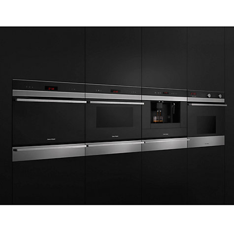 Buy Fisher & Paykel OS60NDTX1 Compact Steam Oven, Stainless Steel/Glass Online at johnlewis.com