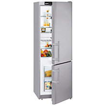 Buy Liebherr CUPSL2721 Fridge-Freezer, A+ Energy Rating, 55cm Wide, Silver Online at johnlewis.com