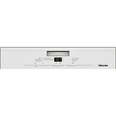 Buy Miele G4210 Dishwasher, White Online at johnlewis.com