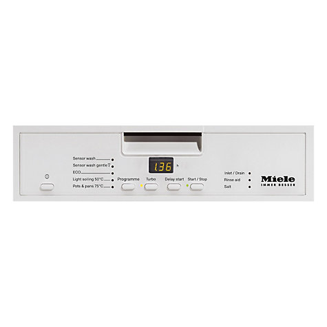 Buy Miele G4420SC Dishwasher, White Online at johnlewis.com