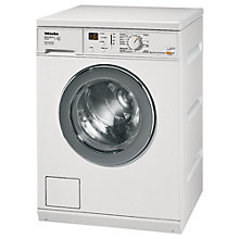 Buy Miele W3164 Edition 111 Washing Machine, 7kg Load, A+ Energy Rating, 1400rpm Spin, White Online at johnlewis.com
