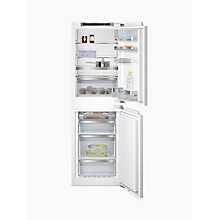 Buy Siemens KI85NAD30G Integrated Fridge Freezer, White Online at johnlewis.com
