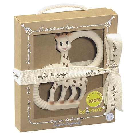 Buy Sophie la Giraffe Teething Ring Online at johnlewis.com