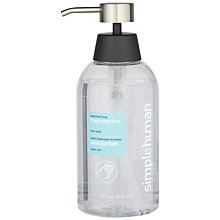 Buy simplehuman Fragrance Free Liquid Hand Soap, 443ml Online at johnlewis.com