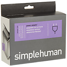 Buy simplehuman Sensor Bin Power Adapter Online at johnlewis.com