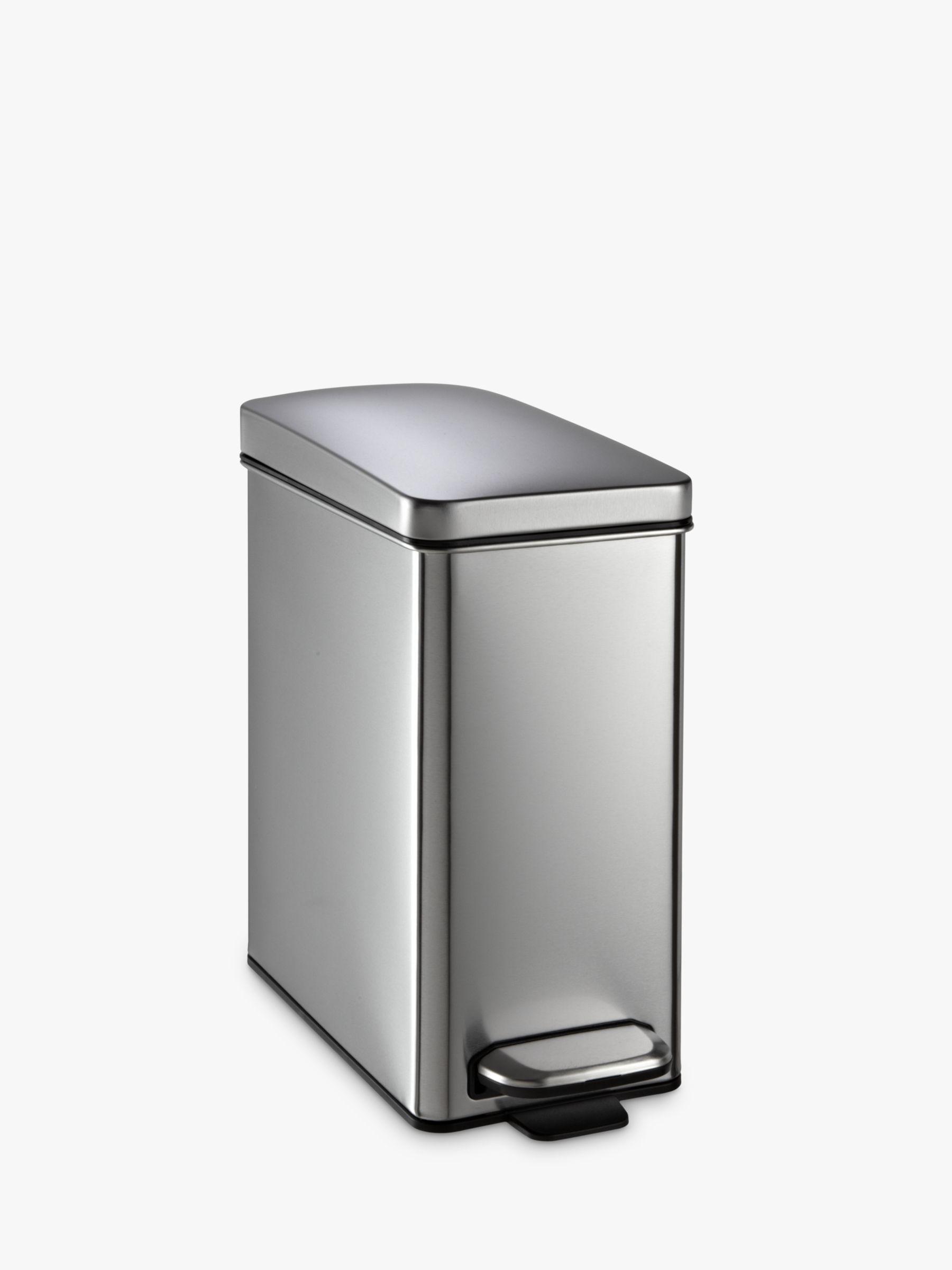 simplehuman pedal bin kitchen bin compare prices at foundem. Black Bedroom Furniture Sets. Home Design Ideas