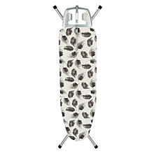 Buy John Lewis Grey Feathers Ironing Board, L120 x W38cm Online at johnlewis.com