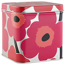 Buy Marimekko Unikko Flower Tin Box Online at johnlewis.com