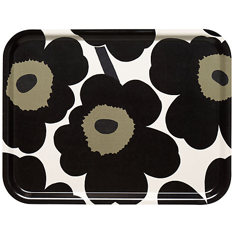 Buy Marimekko Unikko Flower Tray Online at johnlewis.com