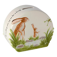 Buy John Beswick 'Guess How Much I love You' Money Bank Online at johnlewis.com