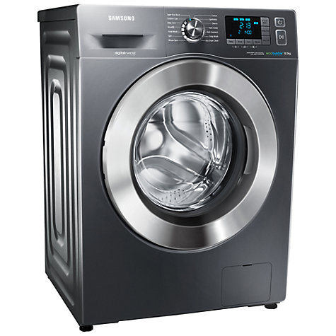 Buy Samsung WF80F5E5U4X ecobubble™ Washing Machine, 8kg Load, A+++ Energy Rating, 1400rpm Spin, Graphite Online at johnlewis.com