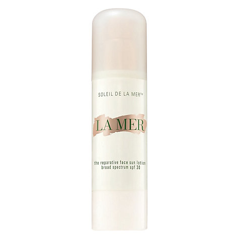 Buy Crème de la Mer The Reparative Face Sun Lotion SPF30 Online at johnlewis.com