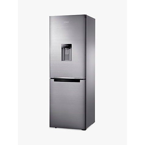 Buy Samsung RB29FWRNDSS Fridge Freezer, Brushed Steel Online at johnlewis.com