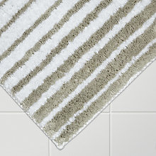 Buy John Lewis Engineered Stripe Bath Mat Online at johnlewis.com