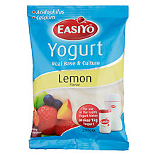 Buy Easiyo Yogurt Maker Mix Sachet, Lemon Online at johnlewis.com