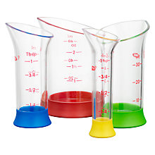 Buy OXO Good Grips Mini Measuring Beakers, 4 Pieces Online at johnlewis.com
