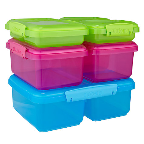 Buy Sistema Klip It Containers, Set of 6 Online at johnlewis.com