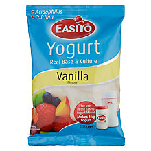 Buy Easiyo Yogurt Maker Mix Sachet, Vanilla Online at johnlewis.com