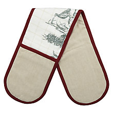 Buy John Lewis Rural Double Oven Glove Online at johnlewis.com