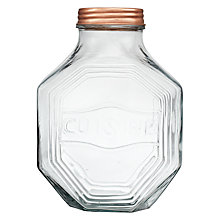 Buy John Lewis Hexagon Glass Jar, Large Online at johnlewis.com