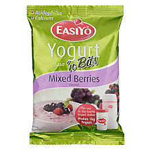 Buy Easiyo Yogurt Maker Mix Sachet, Berries & Bits Online at johnlewis.com