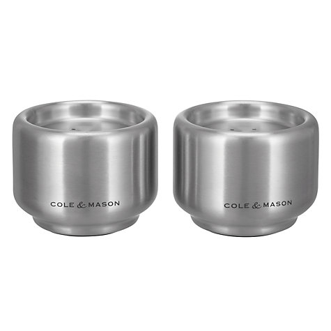 Buy Cole & Mason Burley Salt and Pepper Shaker Set Online at johnlewis.com