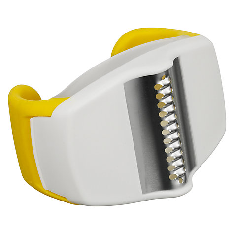 Buy Chef'n Palm Lemon Zester, Yellow Online at johnlewis.com