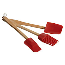 Buy John Lewis Mini Silicone Baking Tool Set Online at johnlewis.com