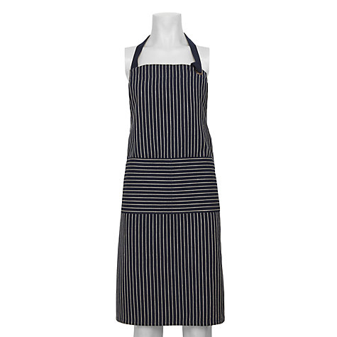 Buy John Lewis Butcher's Stripe Apron Online at johnlewis.com
