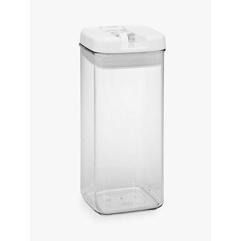 Buy John Lewis Flip-Tite Tall Storage Container, 1.2L Online at johnlewis.com