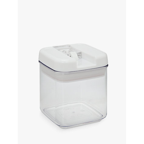 Buy John Lewis Flip-Tite Square Storage Container, 0.5L Online at johnlewis.com