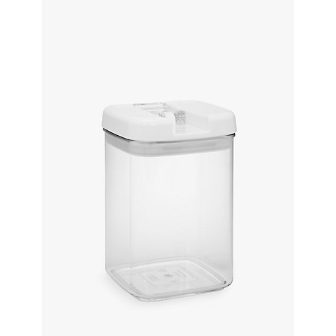 Buy John Lewis Flip-Tite Square Storage Container, 1.8L Online at johnlewis.com