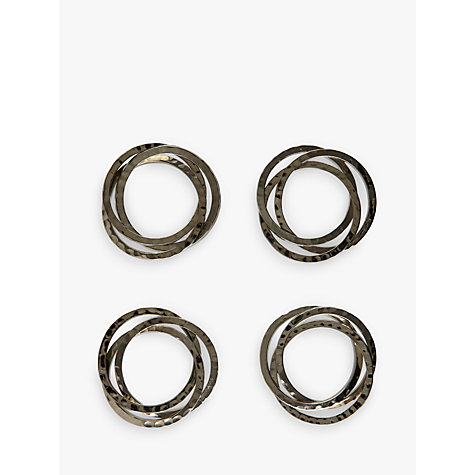 Buy John Lewis Links Napkin Rings, Set of 4 Online at johnlewis.com