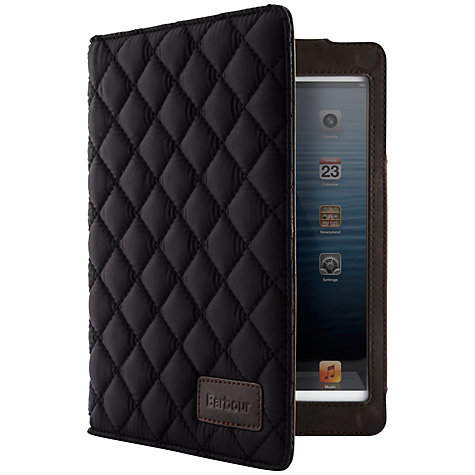 Buy Barbour Quilted Folio Case for iPad mini & iPad mini with Retina display Online at johnlewis.com