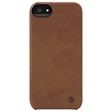 Buy Incase Leather Snap Case for iPhone 5, Brown Online at johnlewis.com