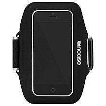 Buy Incase Sports Armband for iPhone 5, Black/Silver Online at johnlewis.com
