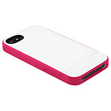 Buy Incase Pro Slider Case for iPhone 5, White/Pink Online at johnlewis.com