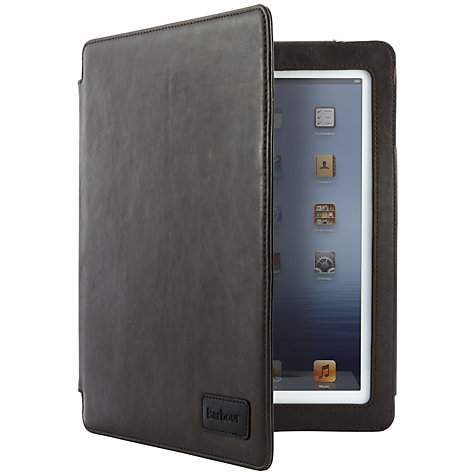 Buy Barbour Leather Style Folio Case for 2nd, 3rd & 4th Generation iPad, Brown Online at johnlewis.com