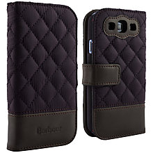 Buy Barbour Quilted Folio Case for Samsung Galaxy SIII Online at johnlewis.com