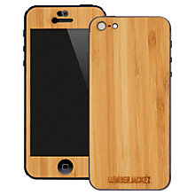 Buy Lumberjacket, Wooden Skin for iPhone 5, Bamboo Online at johnlewis.com