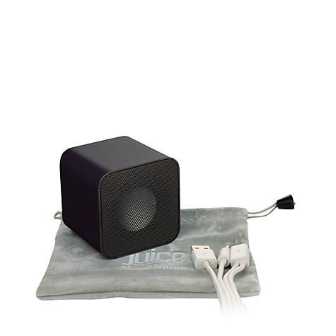 Buy Apple iPod classic, 160GB, Black with Juice Sound Square Portable Speaker, Black Online at johnlewis.com